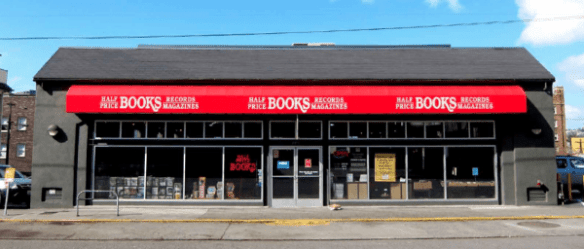 The former home of Half Price Books is the future home of Goodwill