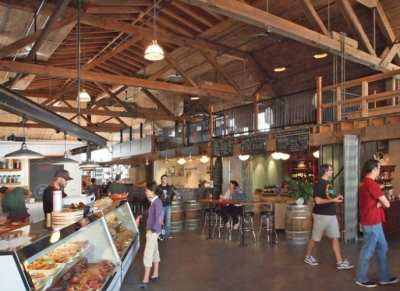 "Inside Melrose Market -- the project is an example of some of the best ""preservation of authenticity"" on Capitol Hill"