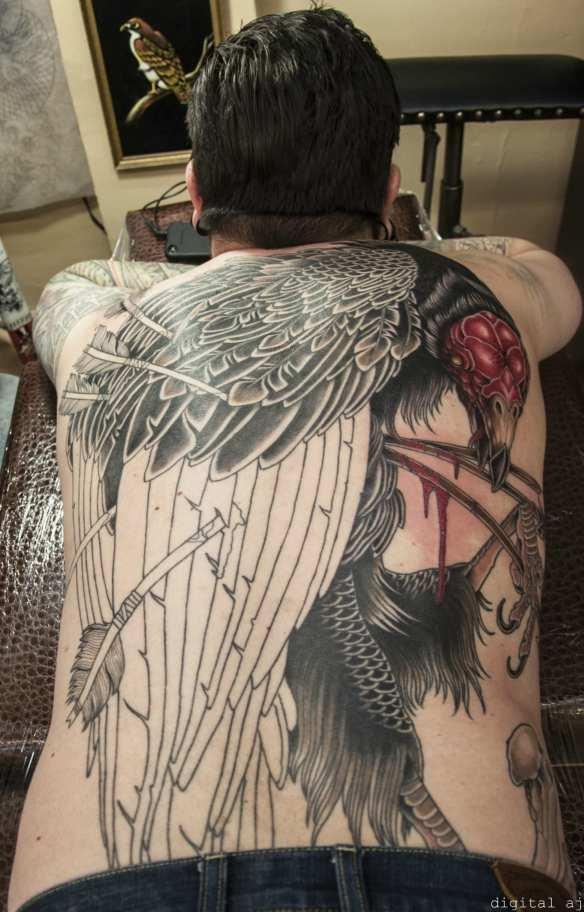 CHS Ink - Dustin's Back