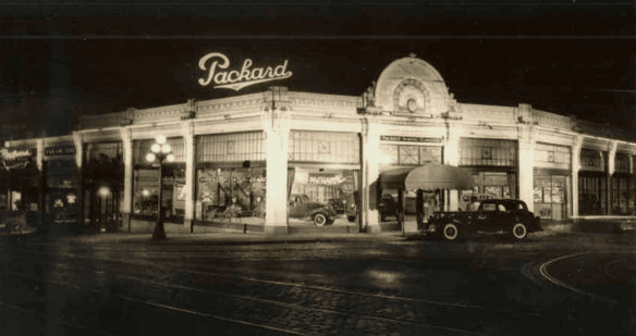 Packard Seattle once called the corner home
