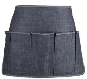 You'll probably want a denim gardening apron, too