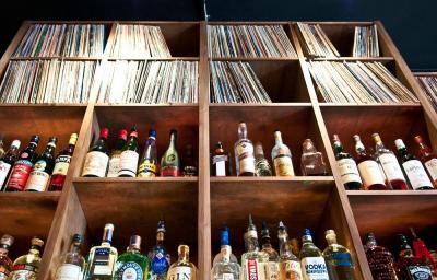A wall of records at opening soonish Revolver Bar (Image: Revolver)