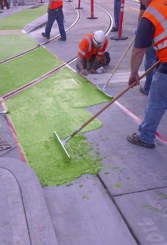 Bikeway green (Image: SDOT)