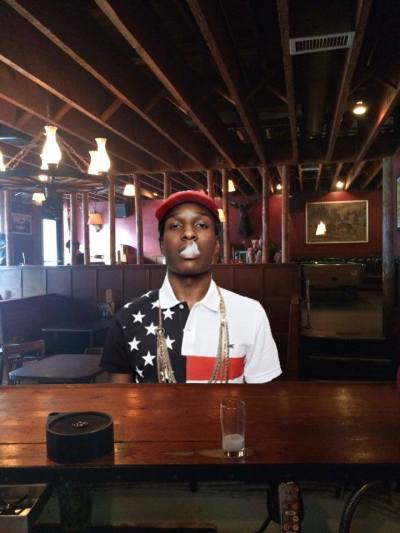 Call him Billy Gates but don't trust A$AP Rocky was actually hanging at Linda's (Image via Linda's Facebook)