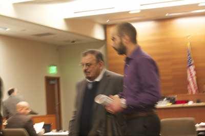 Masmari at a court hearing earlier this year (Image: CHS)