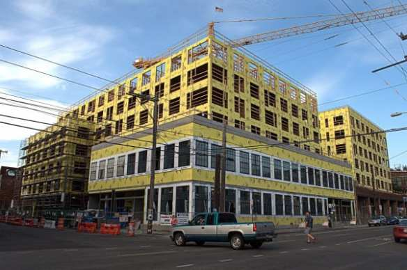 On E Union, these will *not* be condos... yet (Image: Joe Wolf via Flickr)