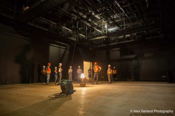 Inside the future home of the Main Stage at 12th Ave Arts (Image: CHS)