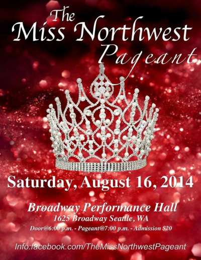 Miss Northwest Pageant @ Broadway Performance Hall
