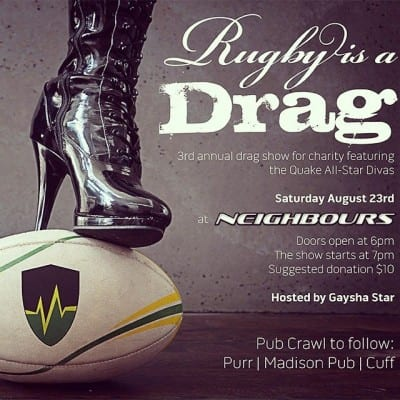 rugby drag