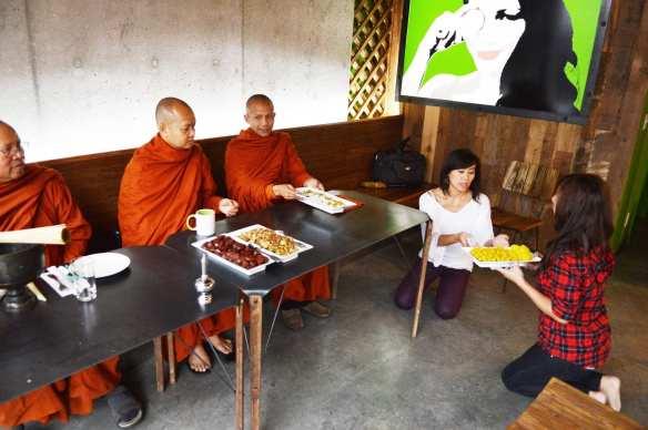 Blessing Day at Manao (Image: Manao Thai Street Eats)
