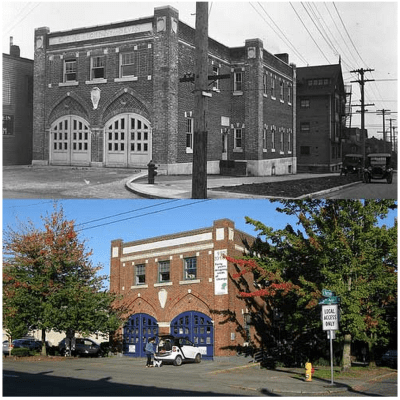 Fire Station 7 has been home to a lot of movies -- and a lot of history (Image: Seattlest)
