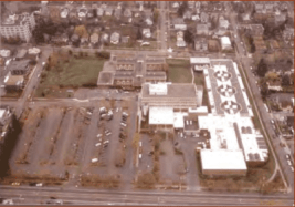 The current facility from above