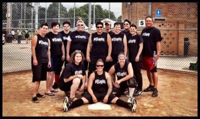 The Wildrose softball team (Image: The Wildrose)