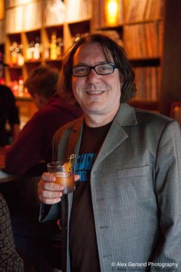 Gary Reynolds at Revolver (Image: CHS)
