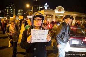 Scenes from #BlackLivesMatter marches