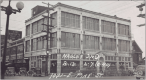 The White Motor building was built in 1918