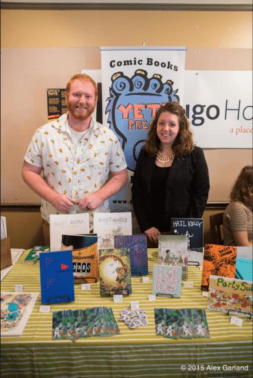 RJ Casey and Ann Casey of Yeti Press