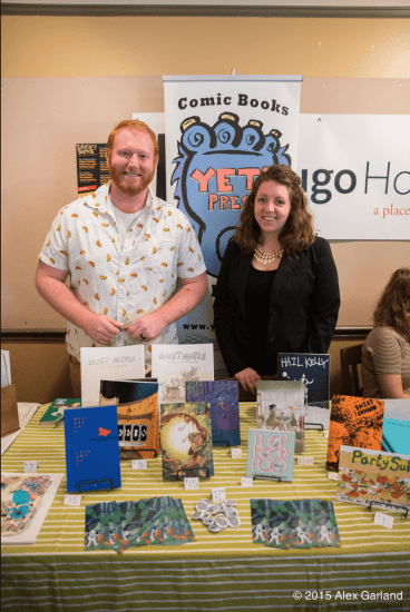 RJ Casey and Ann Casey of Yeti Press