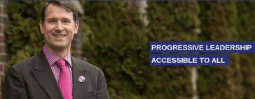 On his website, candidate Rod Hearne also pitches his 'accessibility.'