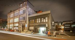 The auto row building incorporated in the new development was once home to Chophouse Studios (Image: Chophouse Studios)