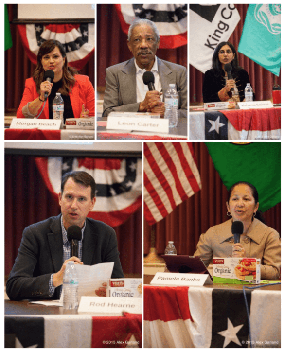 32+ things CHS heard during the District 3 candidates forum