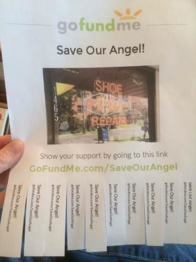 The Save Our Angel! Gofundme Page (Image: @solv17 via Twitter)