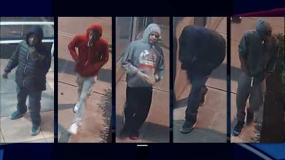 Washington's Most Wanted says this is the group responsible for a May 23rd robbery and shooting on Capitol Hill (Image: Washington's Most Wanted)