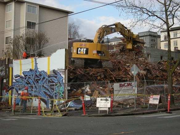 "Photo by Joe Mabel ""Seattle - the last of 500 E. Pine 03"" from Wikimedia"