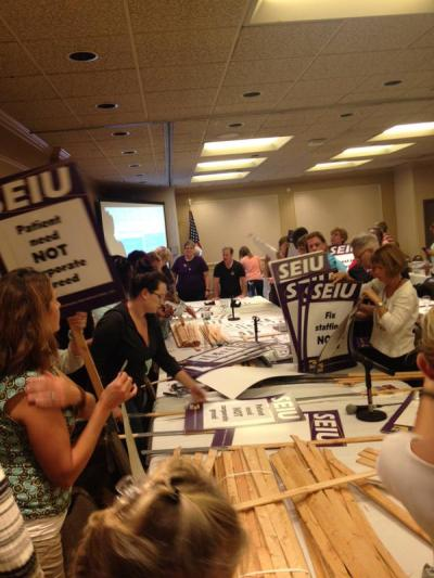 """Swedish-Providence nurses & healthcare workers are getting ready to picket at @Swedish tomorrow!"" -- @SEIU1199NW"
