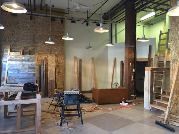 Under construction on 11th Ave (Image: Haute Hibou)