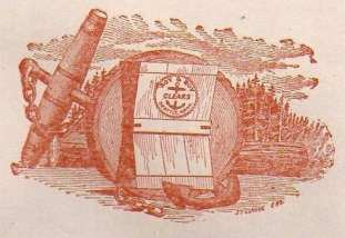 """Roy & Roy logo circa 1900. """"Clears"""" are shingles without knots."""