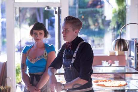 Chef Mac Jarvis, right, and Sous Chef Tia Hawley