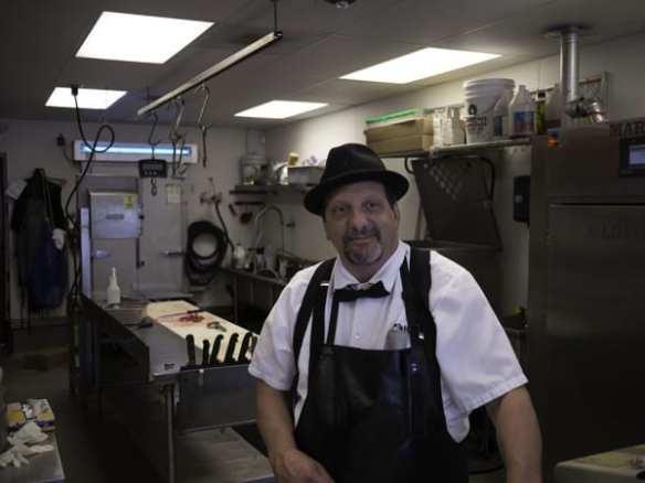 Tom Salle, owner of Meat the Live Butcher in White Center. Grandson of Nunzio and Carmella (Di Pasquale) Salle