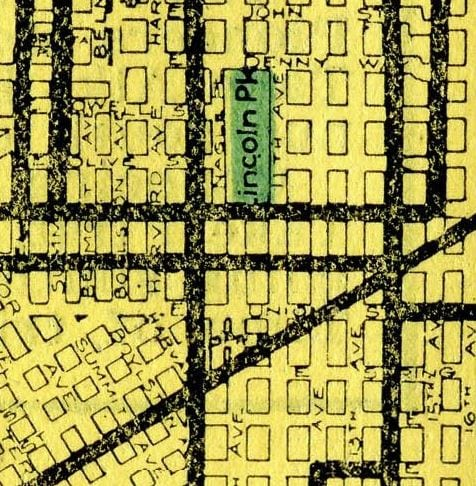 Streetcar lines in Pike-Pine, 1914. From map I bought and scanned and is now on Wikimeida.