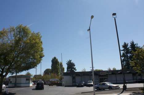 This City Light pole is home to an ATF surveillance cam (Image: CHS)