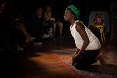 Apphia Campbell in Black Is the Color of My Voice (Image: Central District Forum for Arts & Ideas)