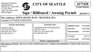 The permit that launched a lot of flashing