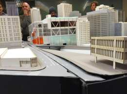 A model of the proposed expansion