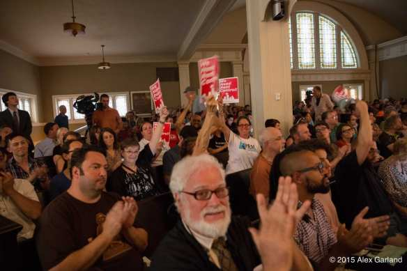 Many of these folks thought rent control in Seattle sounded swell in 2015 (Image: CHS)