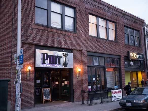 Purr Cocktail Lounge and The Crypt, former home of []. Purr's Barbie was mentioned in a recent Re:Take (Photo Rob Ketcherside)