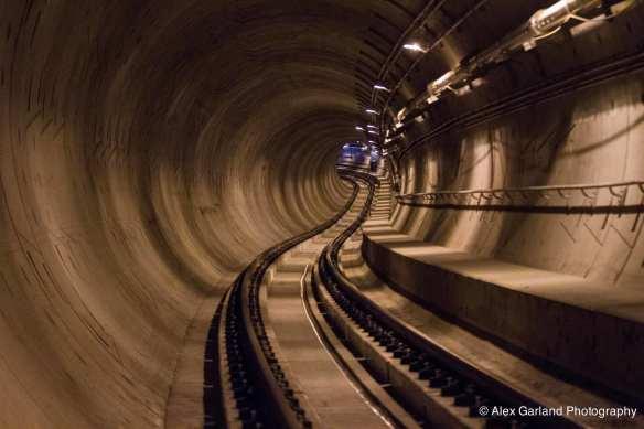 In 2014, CHS took a walk through the tunnels (Image: CHS)