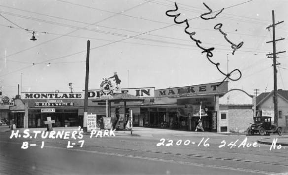 Photo of site from Washington State Archives, 871210-0035, 1937
