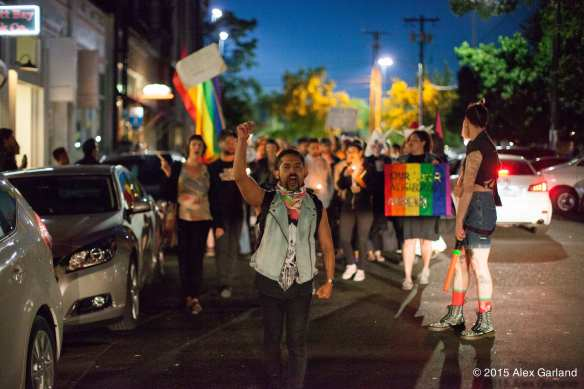 This 'Not one more' march against anti-queer violence on Capitol Hill last June showed there still some fight left in the gayborhood (Image: CHS)