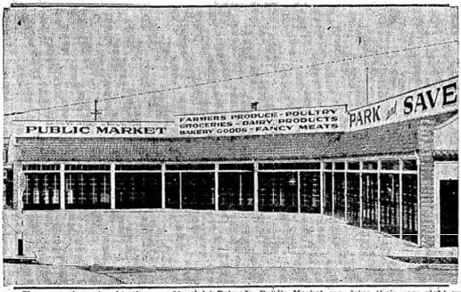 Montlake Drive-In Market 03 12 1931 Seattle Times