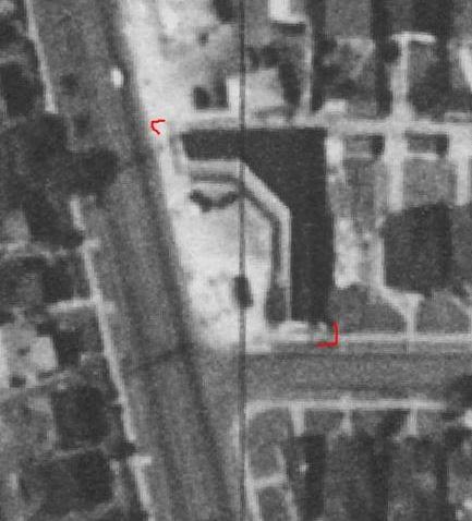Montlake Drive-In Market 1936 Aerial