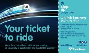"You'll need this ""ticket"" to ride free Saturday -- but don't print it out. Sound Transit said you'll be able to show it on your phone."