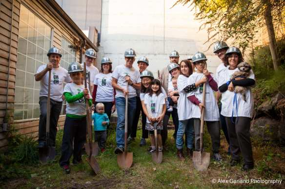CHS stopped by when the group broke ground in October 2014 (Image: CHS)