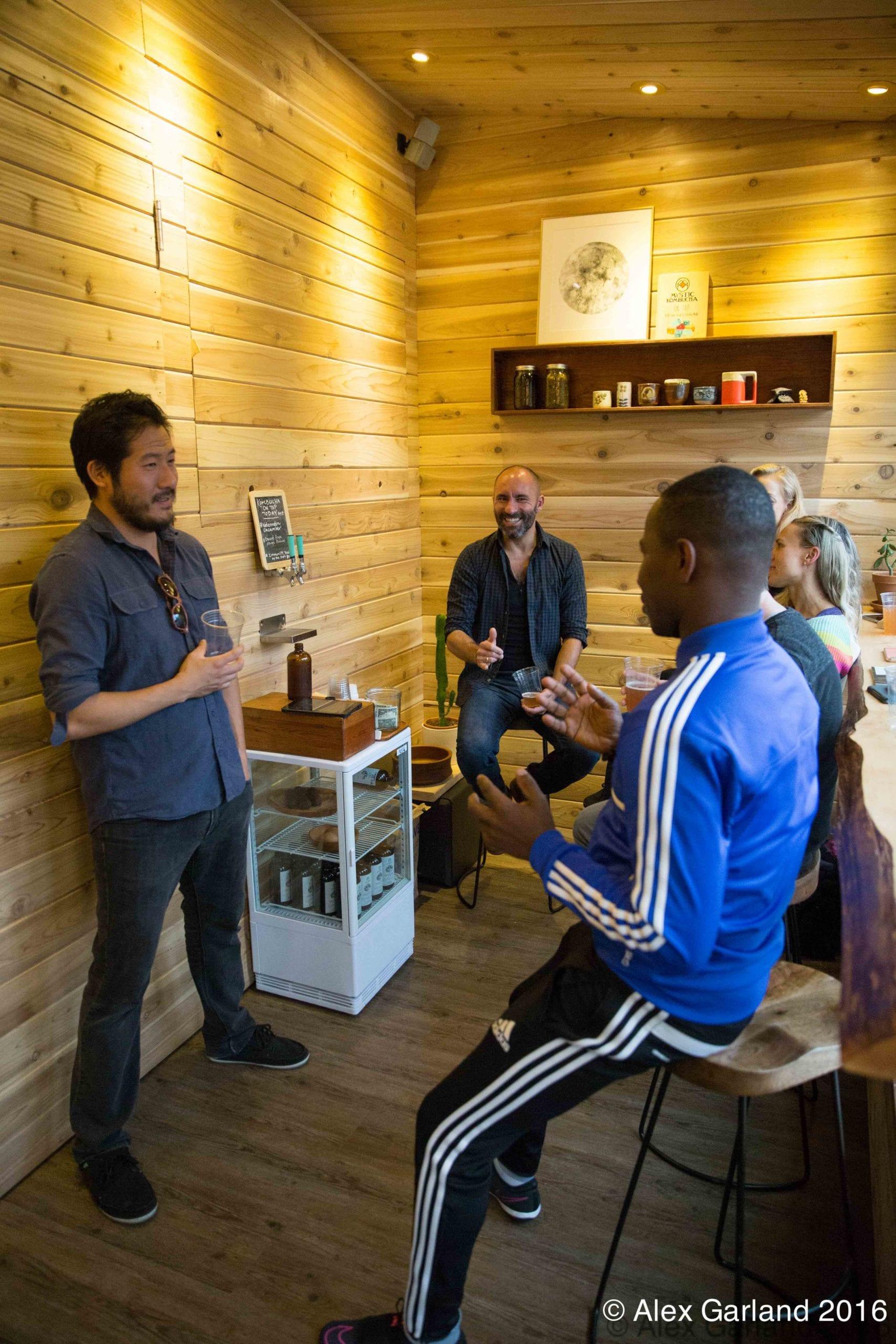 Capitol Hill Now Has A Mystic Kombucha Tasting Room Chs