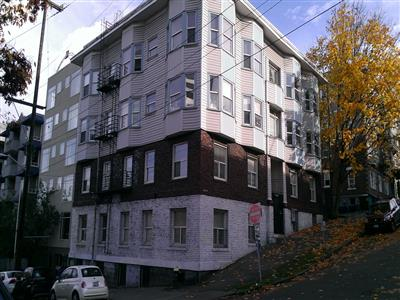 """Last year, Sawant cited the 1906-built Celeste Apartments as an example of why Seattle needs to pass strong tenant's rights legislation to limit """"slumlord"""" rent increases"""