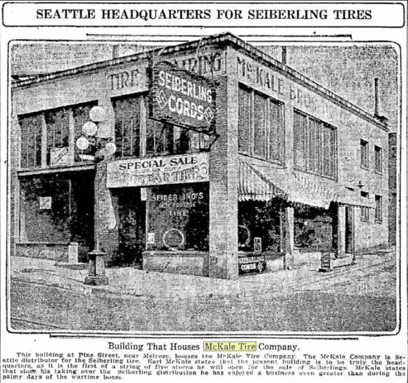 McKale Brothers, 1922
